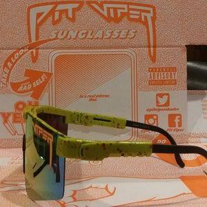2d191e3611 Pit Viper Accessories - Pit Viper 1993 Polarized Double Wide Sunglasses